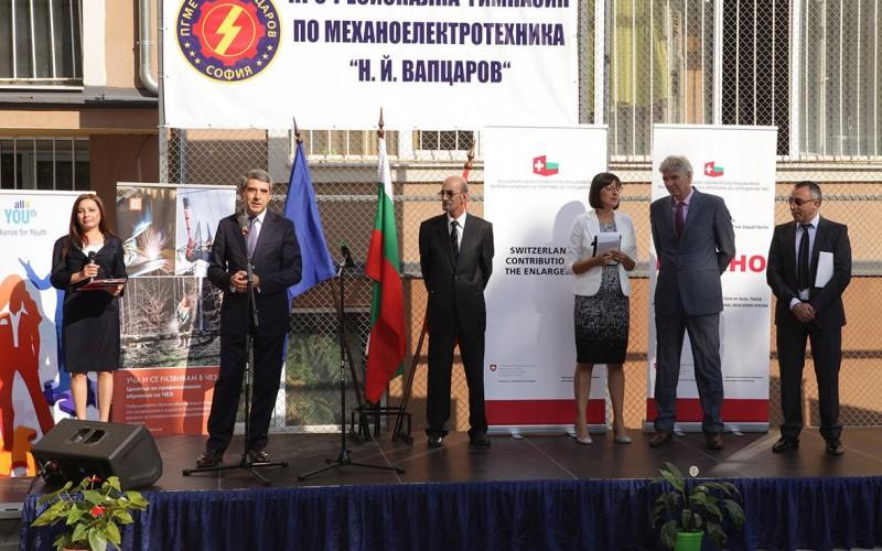 Нестле и партньорите в проекта ДОМИНО дадоха официален старт на дуалното образование по швейцарски модел