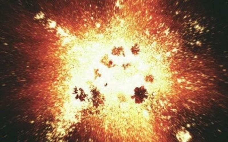 Вселената е резултат от два взрива