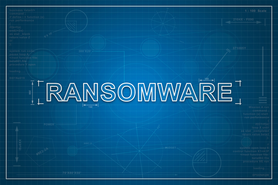 blueprint of ransomware