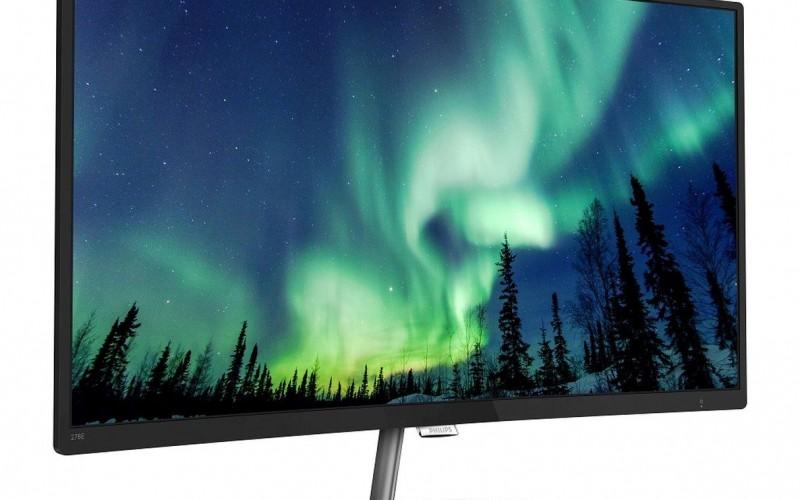Нов извит LCD дисплей от Philips с разширен цветови спектър