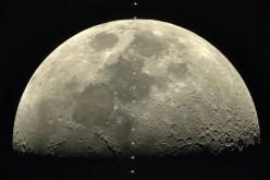 Фотоапарат α7s на Sony засне движението на МКС около Луната при скорост 28 000 км/ч