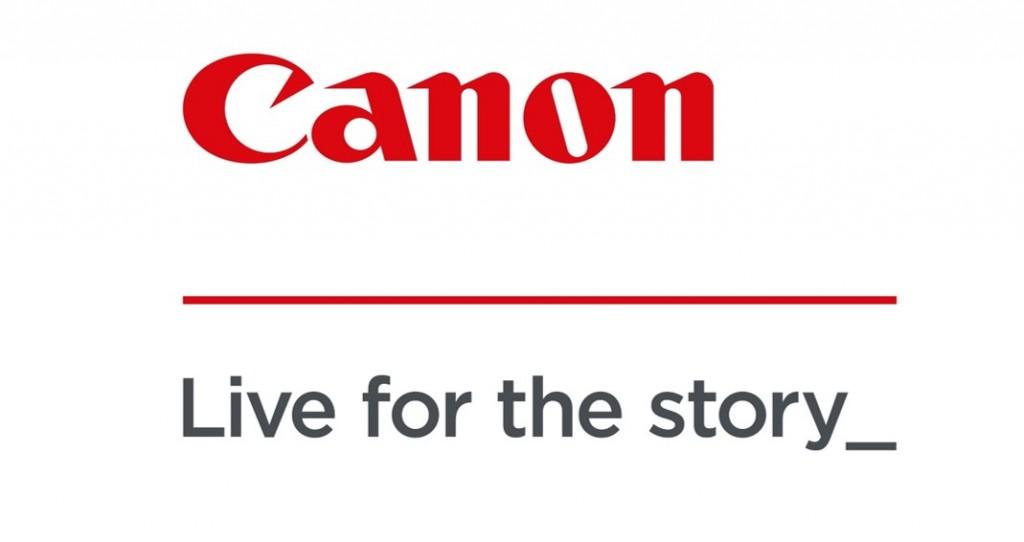 Canon logo lockup