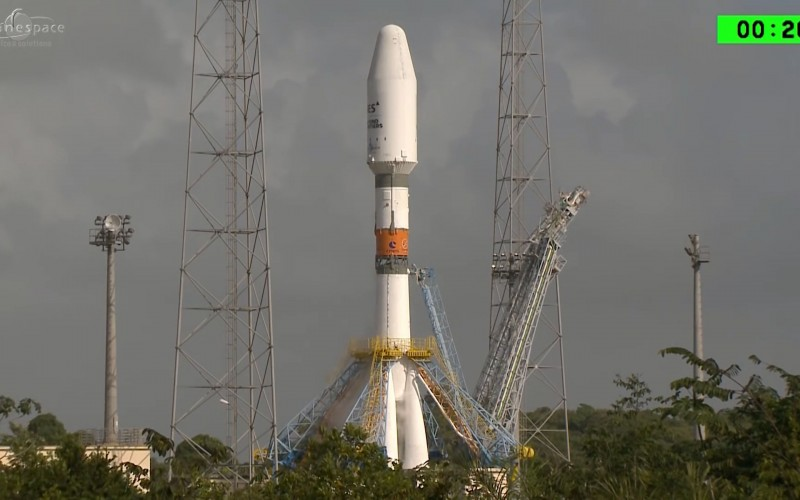 Първият хибриден сателит SES-15 е изведен успешно изведен в орбита