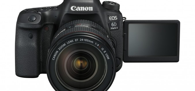 Canon представи EOS 6D Mark II с 5-осова стабилизация