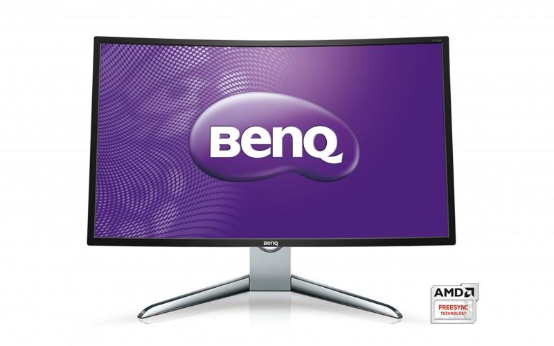 BenQ EX3200R: голям извит монитор за всяко приложение
