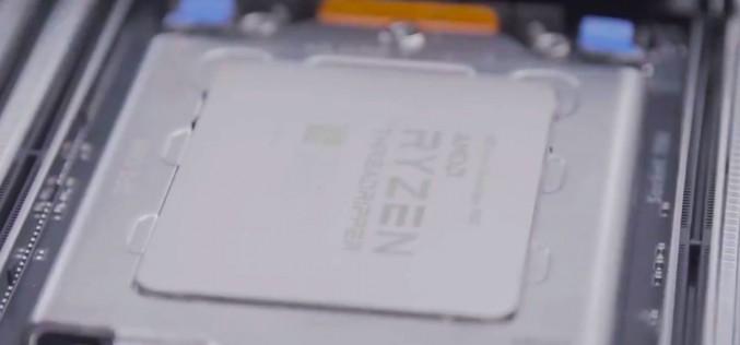 AMD пуска в продажба 16-ядрения процесор Ryzen Threadripper
