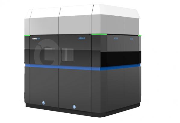 GE представи гигантски 3D принтер, който създава части за самолети
