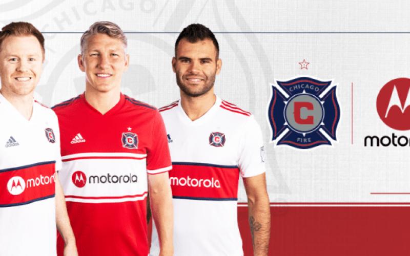 Motorola e новият спонсор на футболния отбор Chicago Fire