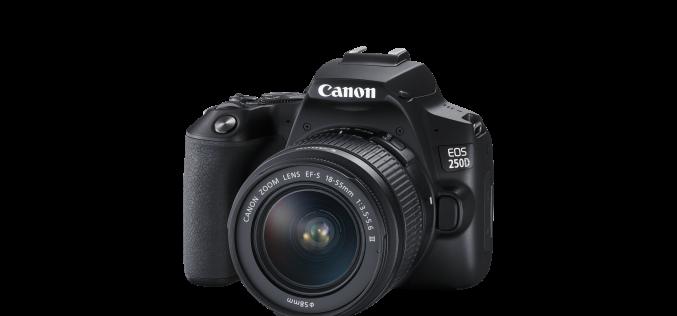 Създавай красиви спомени бързо и лесно с Canon EOS 250D, най-лекият DSLR с подвижен дисплей в света
