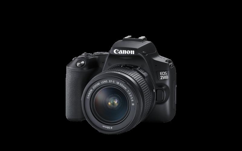 Canon пуска на пазара най-лекия в света DSLR фотоапарат