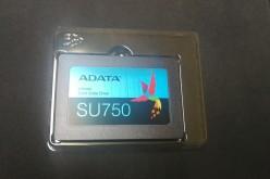 Ревю на ADATA SU750 SSD