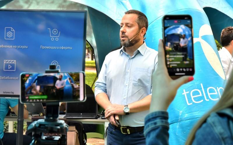 Новата версия на приложението MyTelenor предлага нов дизайн и нови функционалности
