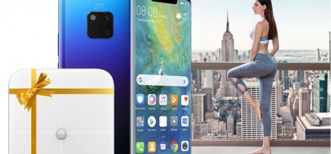 Теленор подарява умен кантар с всеки Huawei Mate 20 Pro, взет през онлайн магазина до 31 юли