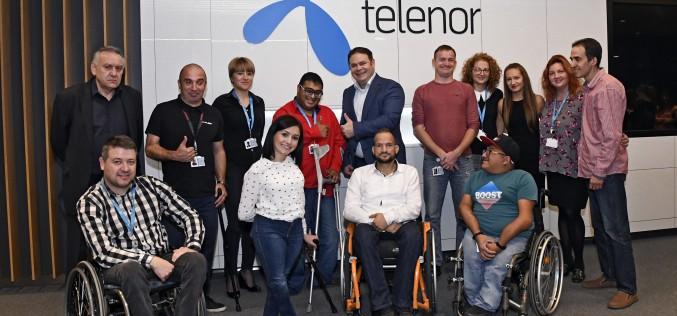 """Теленор стартира Академия """"Open Mind"""" с професионални обучения за хора с увреждания"""