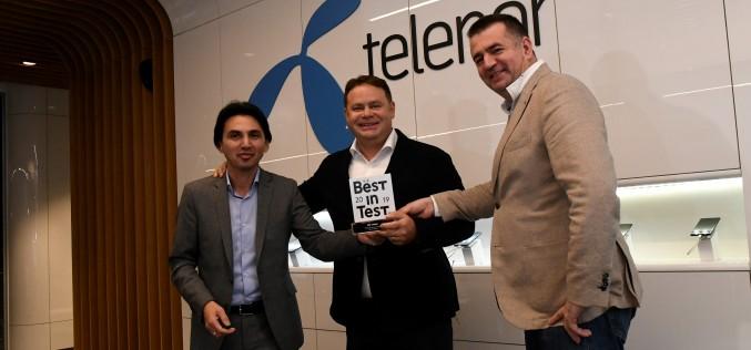 Мрежата на Теленор е сертифицирана с Best in Test от компанията за измерване на мобилни мрежи umlaut