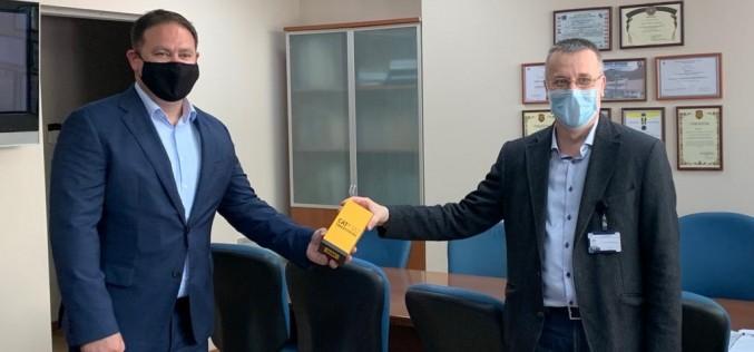 """Теленор дари 50 смартфона CAT S52 на ВМА, """"Пирогов"""" и Центъра за спешна медицинска помощ София"""