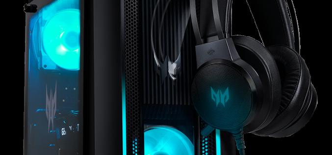 Acer разширява популярната си гейминг серия Predator с настолни компютри, монитори и аксесоари