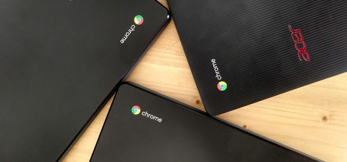 Трикратно се увеличават българските училища, които ще използват Chromebook по модела 1:1 през новата учебна година