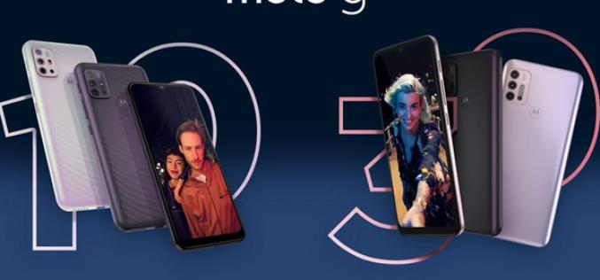 Motorola представи смартфоните moto g30 и moto g10
