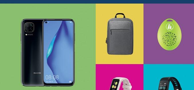 Huawei P40 lite в комплект с аксесоар по избор предлага Теленор през февруари