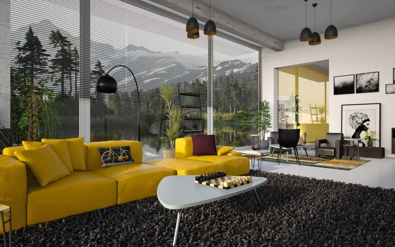 Модни цветове в интериора на 2021 година. Избор на цветове за килими