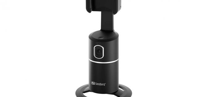 Изкуствен интелект следва обекта на заснемане в новите камери и стойки за смартфони на Sandberg