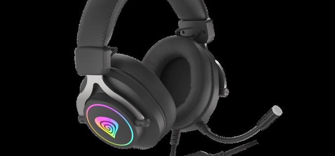 Neon 750 RGB – нови гейминг слушалки от Genesis
